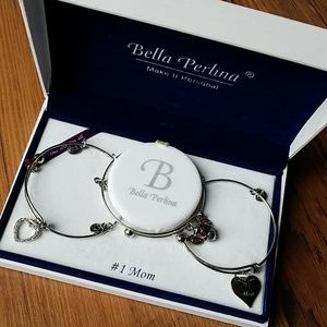 💕 Bella Perlina #1 Mom Bracelet Set